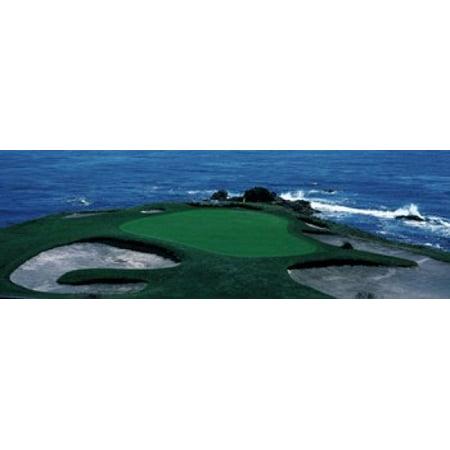 Pebble Beach Golf Course 8th Green Carmel CA Poster Print (8 x 10)