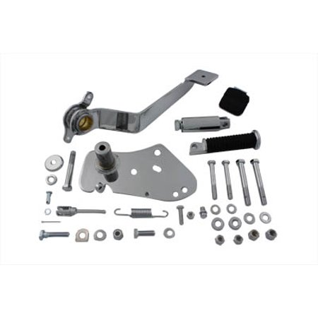 Chrome Forward Control - Chrome Replica Forward Brake Control Kit,for Harley Davidson,by V-Twin