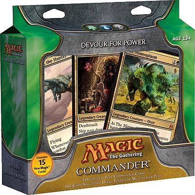 Magic The Gathering Commander Devour for Power EDH Deck by