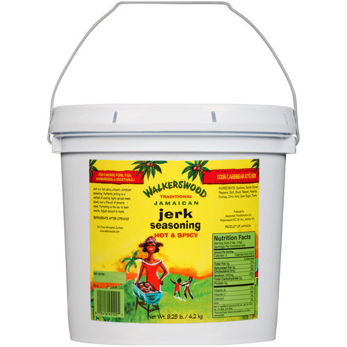 Walkerswood Traditional Hot & Spicy Jamaican Jerk Seasoning, 9.25 lbs
