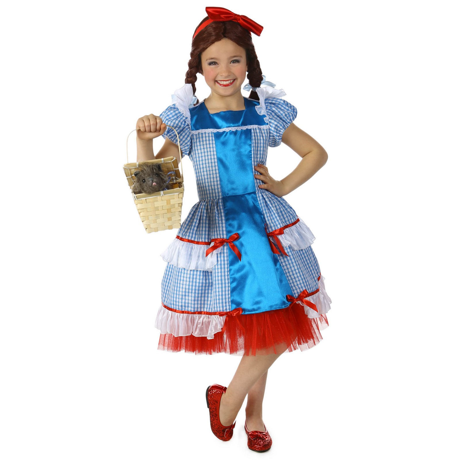 The Wizard Of Oz Dorothy Sassy Girls Costume by PRIN5500