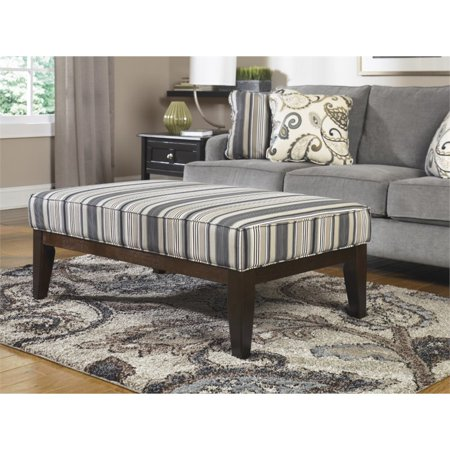 Ashley yvette coffee table ottoman in black Black ottoman coffee table