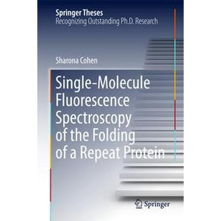 Single-Molecule Fluorescence Spectroscopy of the Folding of a Repeat Protein -
