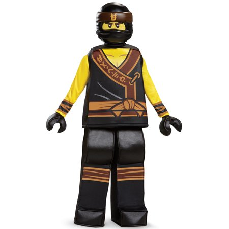 Cole Movie Prestige Child Costume - Ninjago Costume Cole