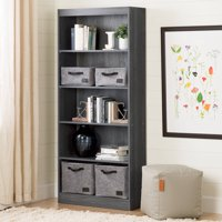"South Shore Smart Basics 5-Shelf 68 3/4"" Bookcase, Multiple Finishes"