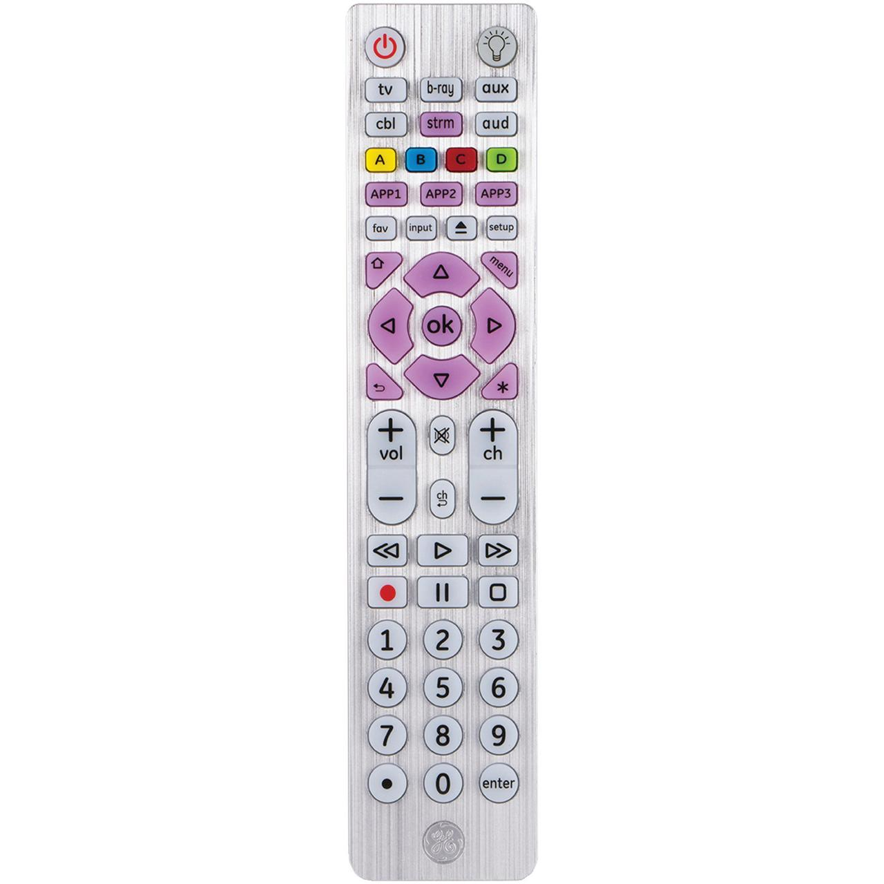 Ge 37038 6-device Streaming Universal Remote