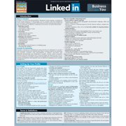 BarCharts 9781423225911 Linkedin For Business & You Quickstudy Easel