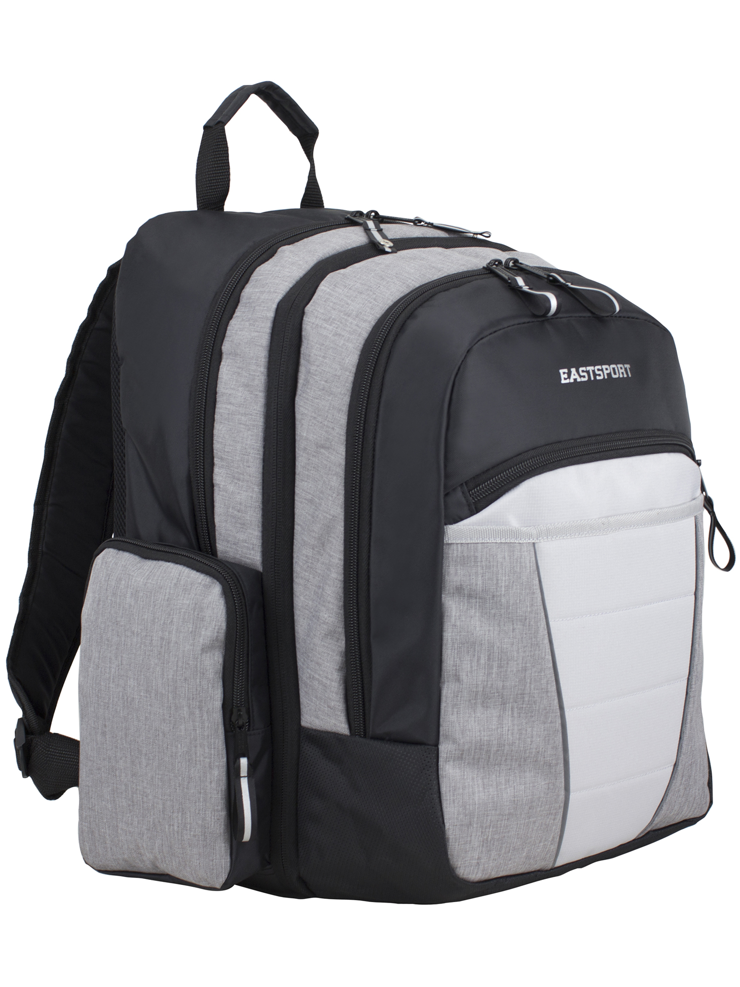Eastsport Titan 2.0 Expandable Multi Compartment Backpack with External USB Charging Port