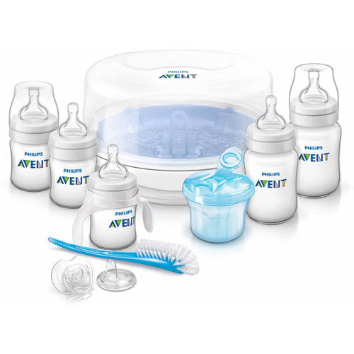 Philips Avent Classic+ BPA-Free Essential Baby Bottle Set, SCD368/01