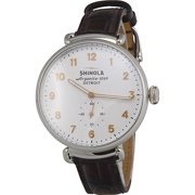 SHINOLA The Canfield White Dial Men's Watch S0120001932