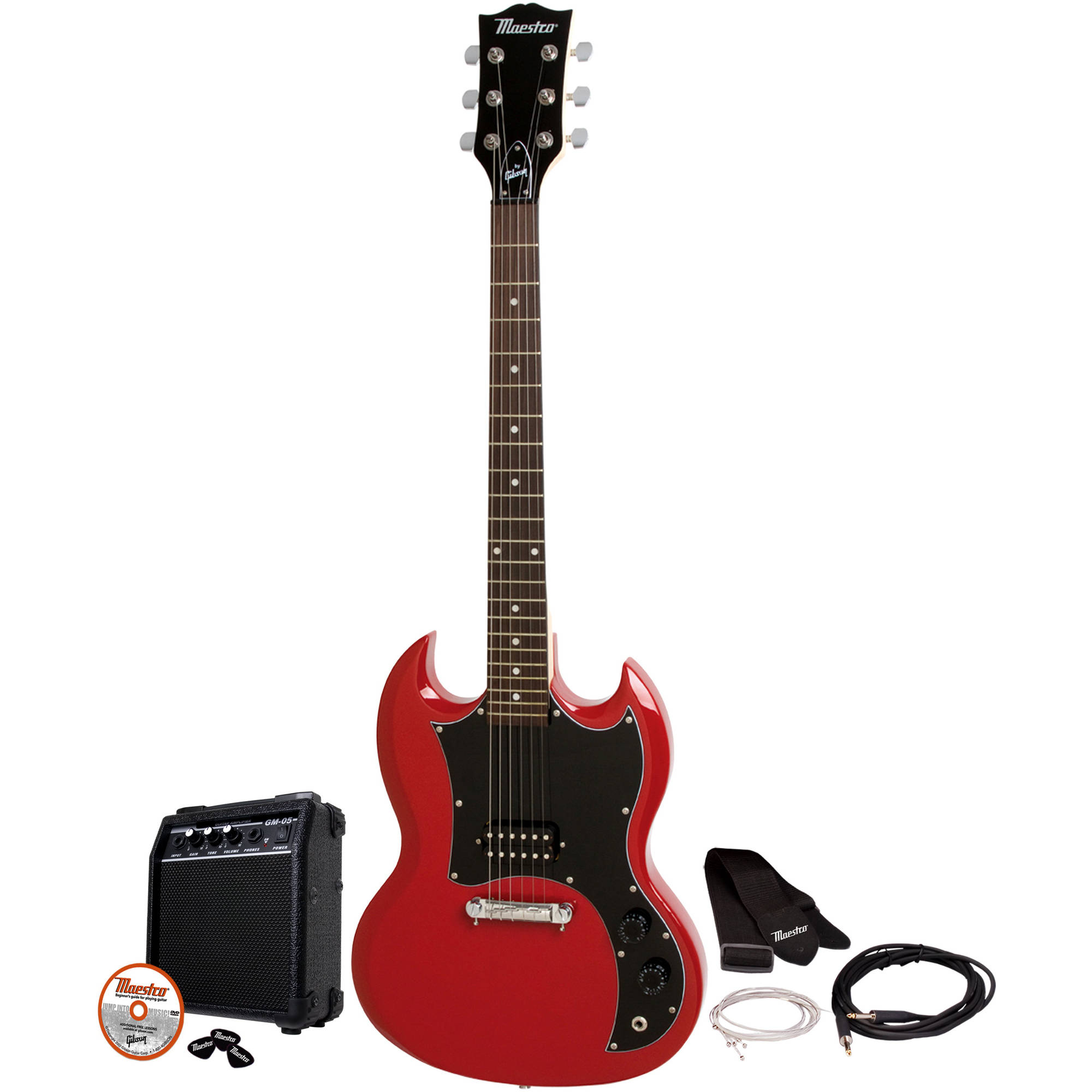 Maestro By Gibson Mesgbkch Double Cutaway Electric Guitar Kit Basic Circuits Part 1 Pickups