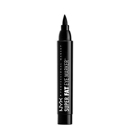 Black Eyes Halloween Makeup Tutorial (NYX Professional Makeup Super Fat Eye Marker, Carbon)