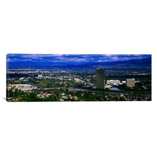 Icanvas Panoramic Studio City San Fernando Valley Los Angeles