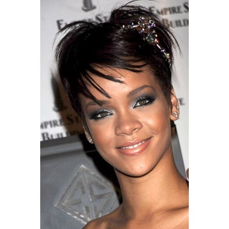 Rihanna At A Public Appearance For Rihanna Attends The Empire State Building Lighting Empire State Building New York Ny June 19 2008 Photo By Kristin CallahanEverett Collection Celebrity (