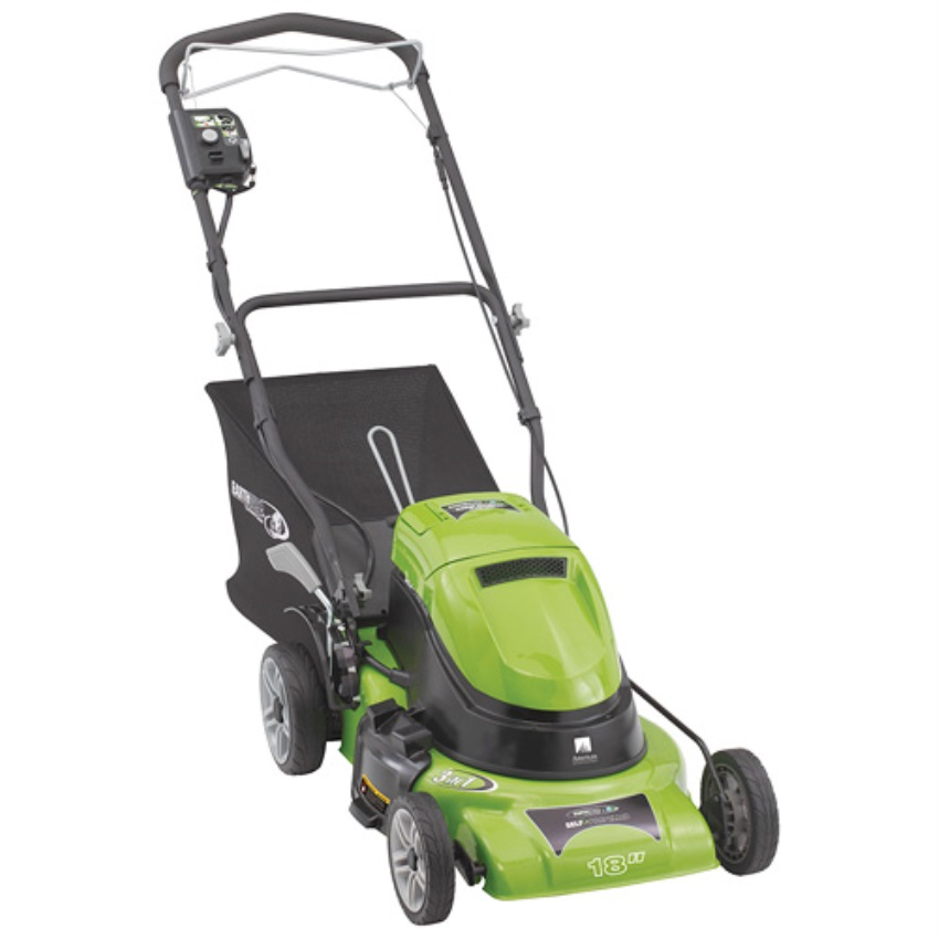 "18"" 24 Volt Lithium Cordless Self-Propelled Lawnmower"
