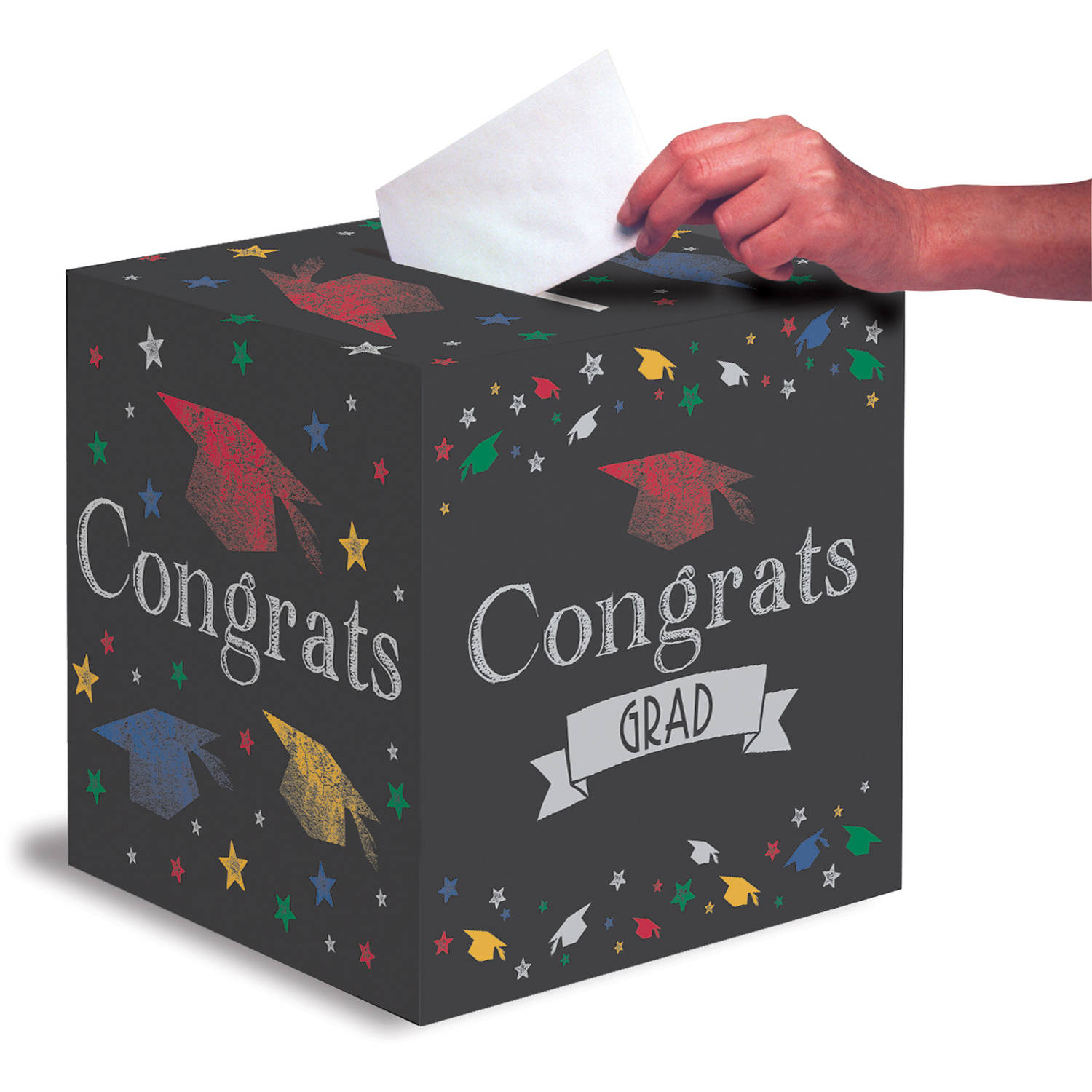 Chalk It Up Grad Card Box