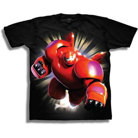 4b29ca494 Disney - Big Hero 6 Baymax 3D Superhero Armor Boys' Juvy Short Sleeve Graphic  Tee T-Shirt - Walmart.com