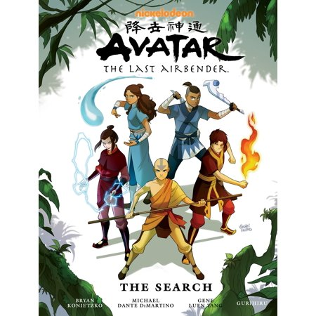 Avatar  The Last Airbender   The Search Library Edition