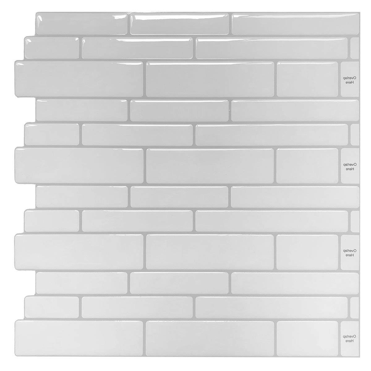 - 10 Sheets Peel And Stick Backsplash Tile Shelf-adhesive Wall Stickers -  Walmart.com - Walmart.com