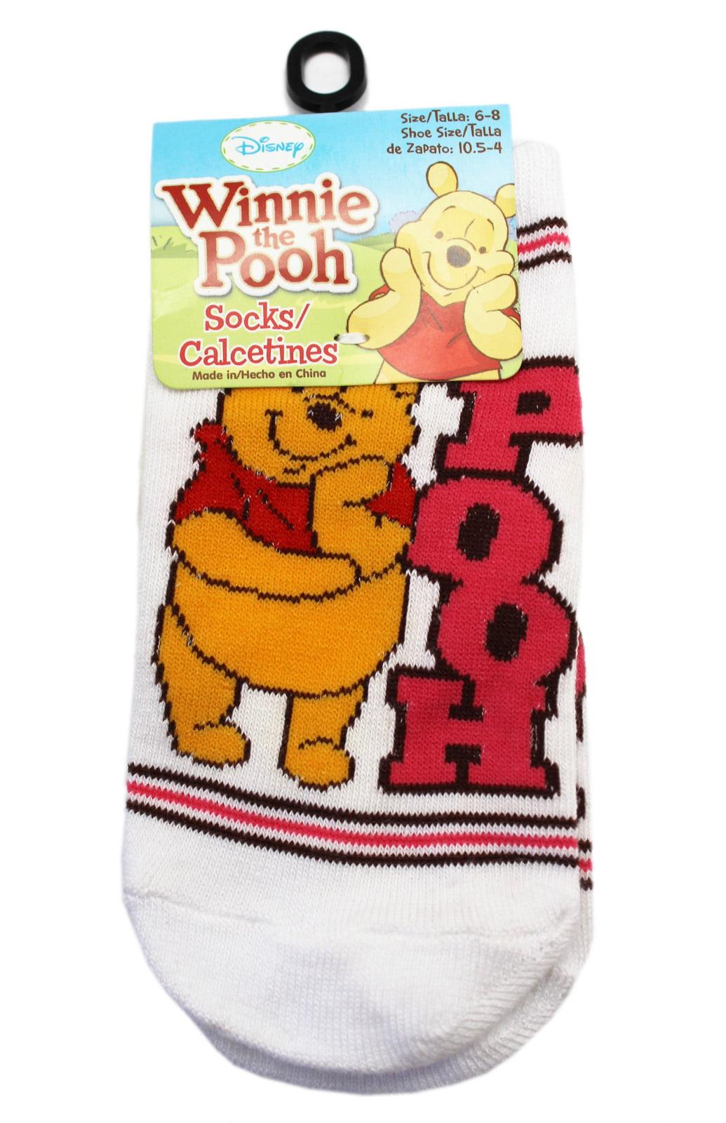 Size 9-12 Disney Winnie The Pooh Socks