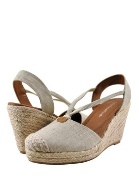fb752611d Product Image City Classified Gigi Women s Linen Closed Toe Wedge