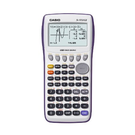 Casio Fx 9750Gii Graphing Calculator   20 Functions   8 Line S    21 Character   Battery Powered   7 19  X 3 56  X 0 94