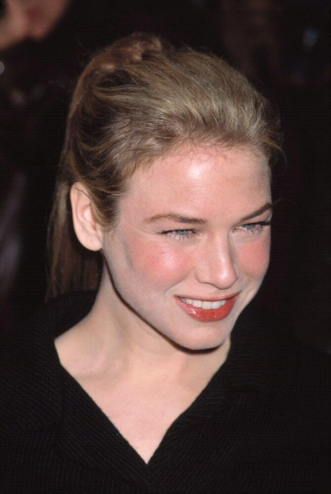 Smile Flat Card Face Celebrity Mask Renee Zellweger