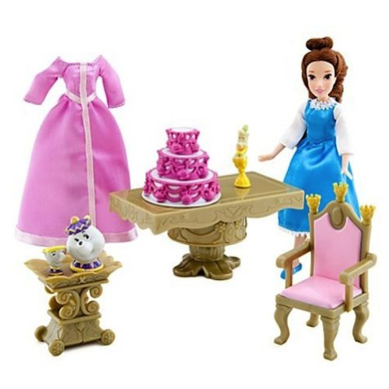 Disney Mini Belle Princess Doll Play Set from Beauty and the Beast