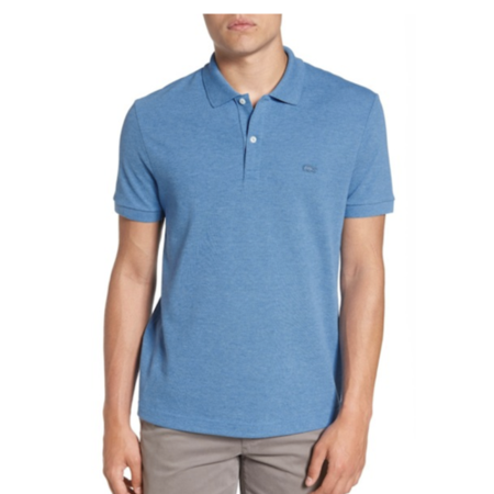 753d36947 Lacoste - Lacoste Men's Short Sleeve Pique Polo Shirt with Tonal Croc Logo  - Walmart.com