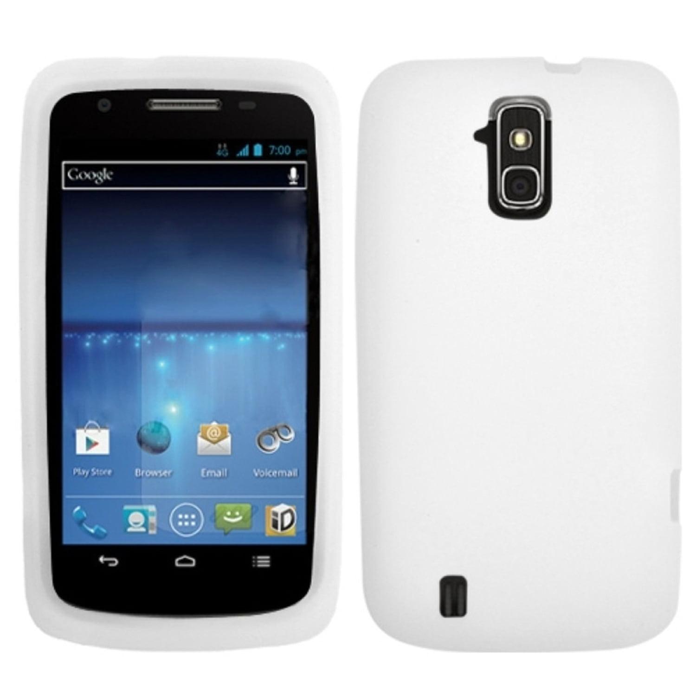 INSTEN Solid Skin Case (White) for ZTE: N9100 (Force)