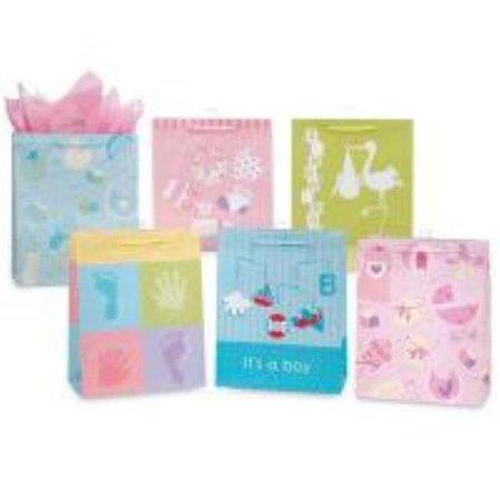 Bulk Buys Baby Gift Bags   Large   Case Of 144