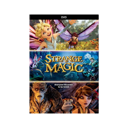 Strange Magic (DVD) (Magic Tree House Movie)