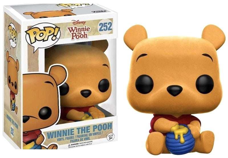 Funko POP! Disney Winnie The Pooh Vinyl Figure [Seated, Flocked] by