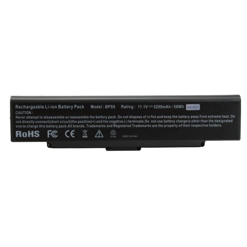 Battery for Sony Vaio VGN-NR120E/S Laptop