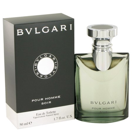 Bvlgari Bvlgari Pour Homme Soir Eau De Toilette Spray for Men 1.7 oz