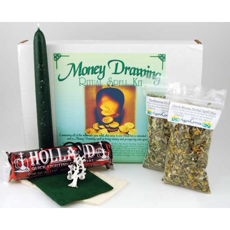 Magical Supplies Money Drawing Complete Boxed Ritual Kit