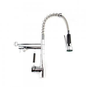 All Copper Kitchen Spring Double Outlet Faucet - Fremont Outlet Mall