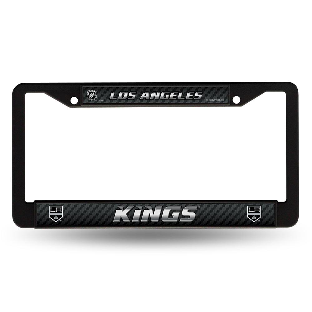 Los Angeles Kings NHL Black License Plate Frame