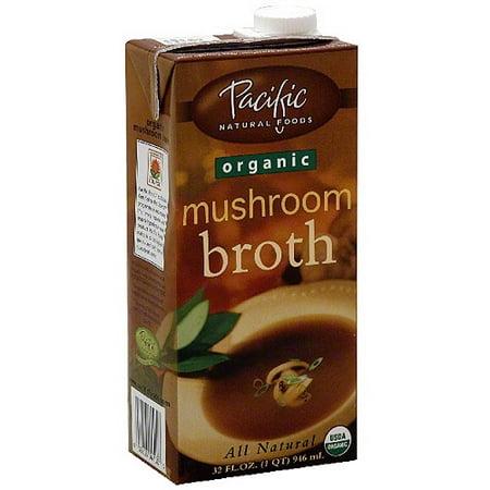Pacific Natural Foods Organic Mushroom Broth, 32 oz (Pack of 12) ()