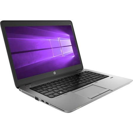 Refurbished HP Elitebook 840 G1 Laptop, Intel Core i5 1.9GHz 4th Gen. Processor, 4GB DDR3, 320GB SATA HDD, Charger, 14