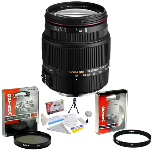 Sigma Zoom Super Wide Angle 18-200mm f/3.5-6.3 DC OS HSM ...