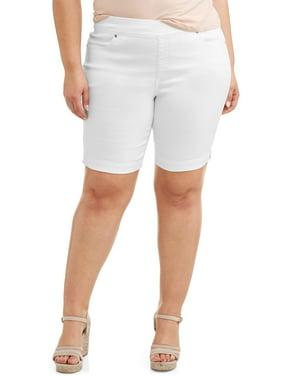 6c5c05e85b3 Product Image Women s Stretch Denim Pull-On 2 pocket Short