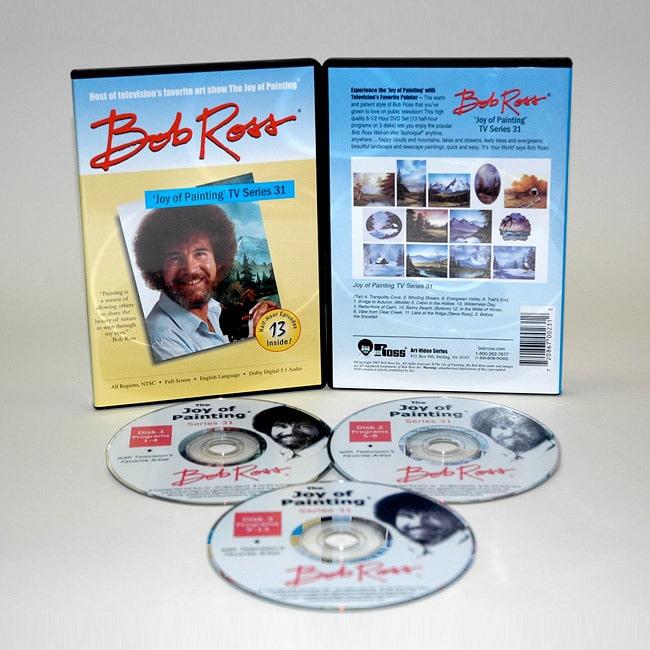 Weber  Bob Ross Joy of Painting 13-show DVD