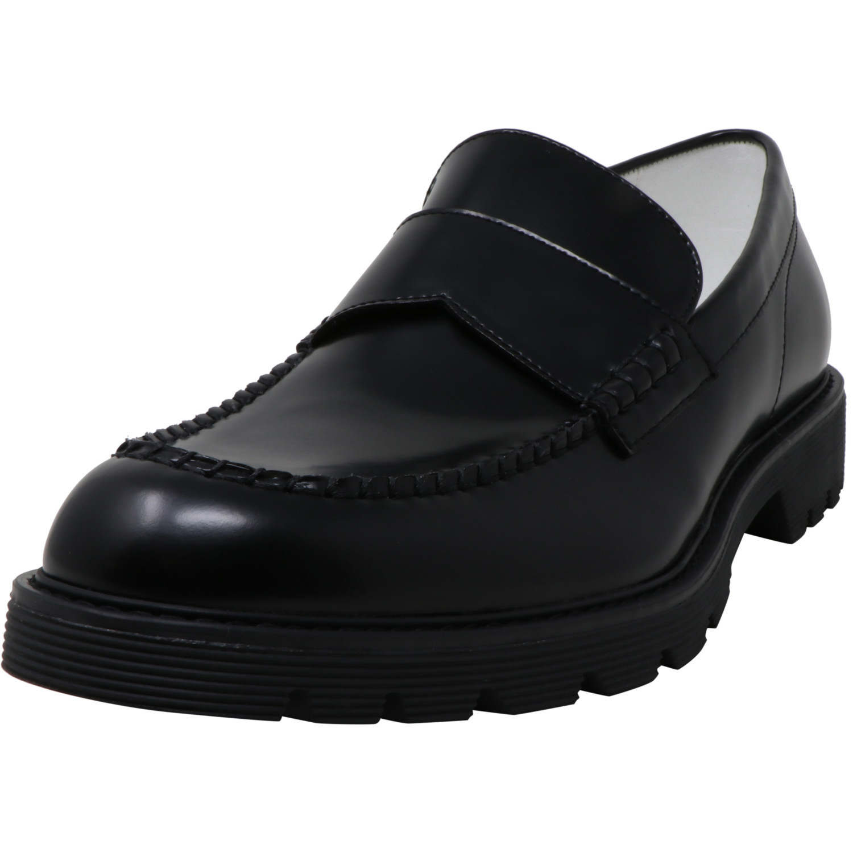 calvin klein black loafers