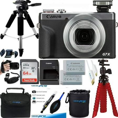 Canon - PowerShot G7 X Mark III 20.1-Megapixel Digital Camera - Silver - Premium Accessories Bundle - International Version
