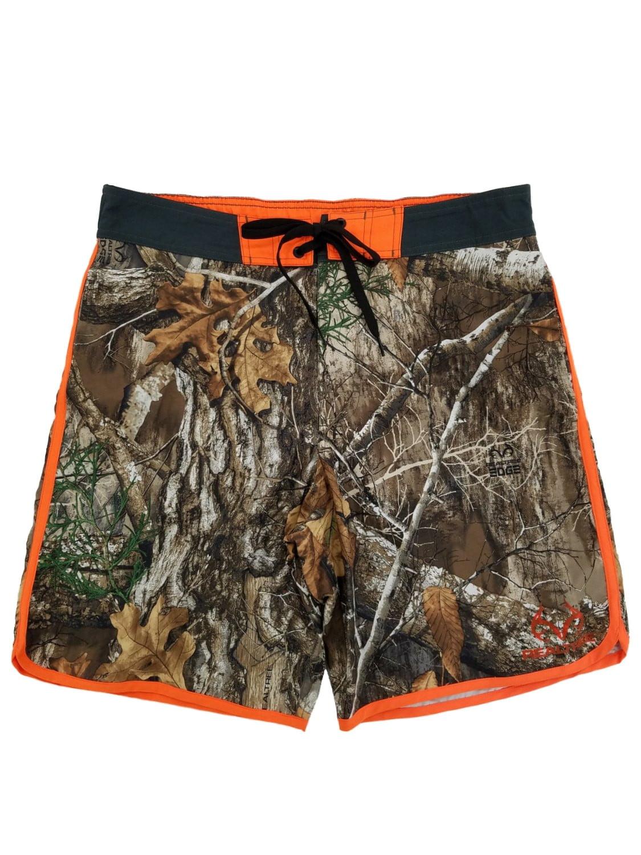 08a8d35af0 Realtree Mens Edge Camo Camouflage Board Shorts Swim Trunks - Walmart.com