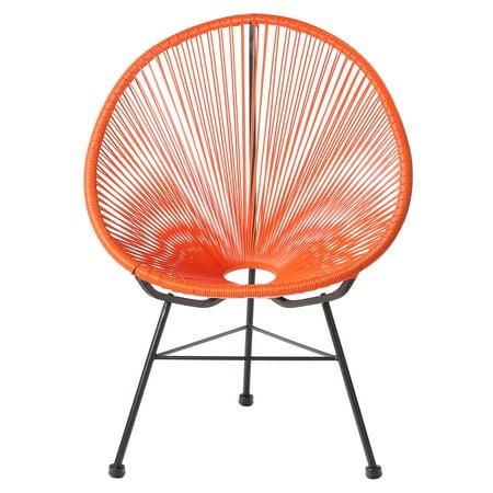 Acapulco Outdoor Lounge Chair - Orange Cord ()