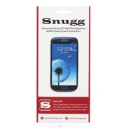 Snugg B00CE6QXHC Galaxy S3 High Transparency Screen Protectors, Pack of 2