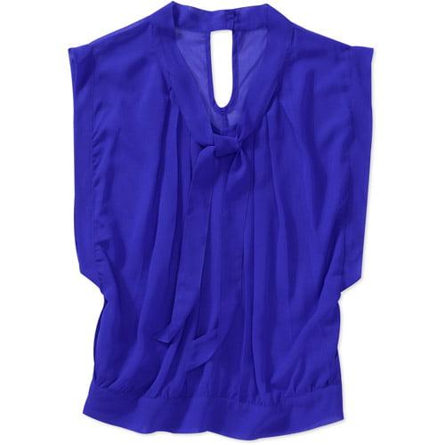 Women's Tie Front Blouse