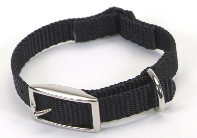 Coastal Pet Products 00301S 3 8 Inch Nylon Safety Cat Collar, 10 Inch, Black by Coastal Pet Products